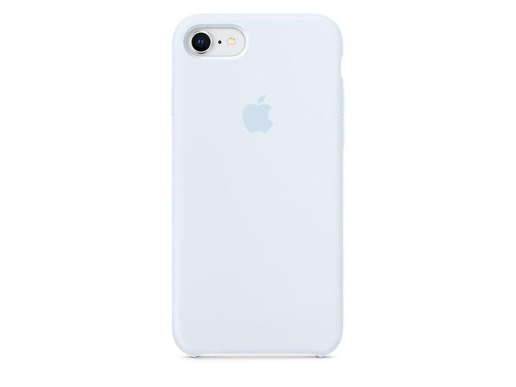 Apple Silicone Case Sky Blue - iPhone 7/8/SE 2020