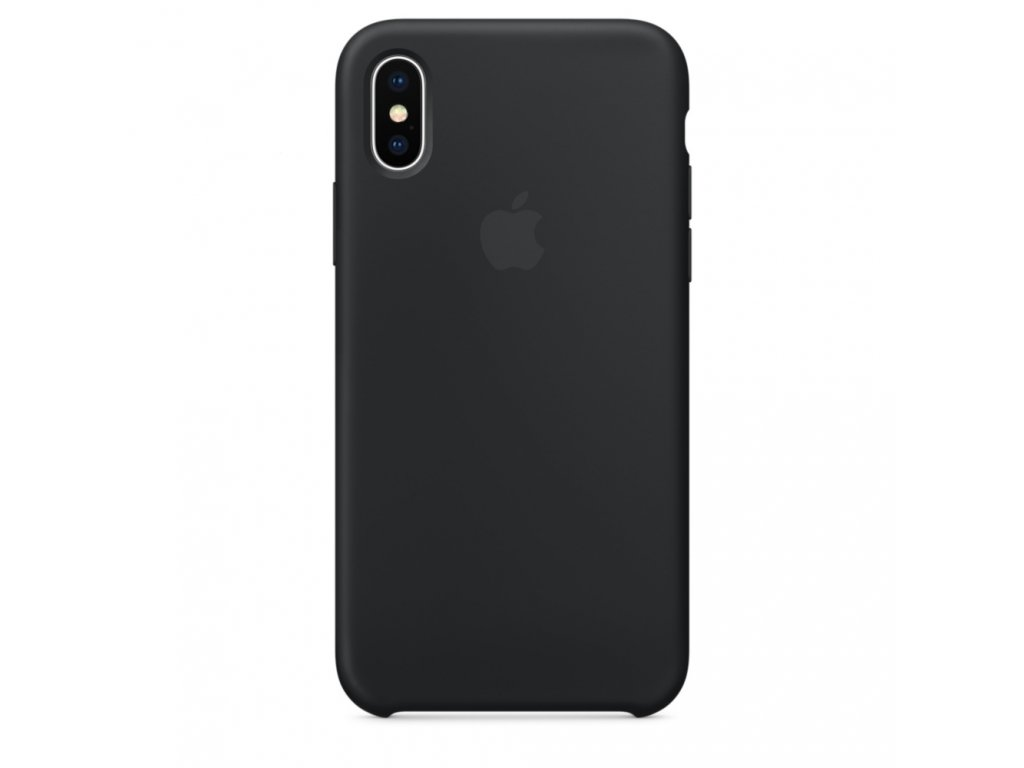 Apple Silicone Case Black - iPhone XR