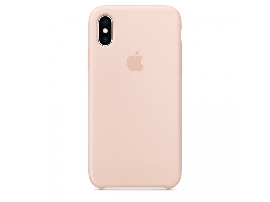 iPhone XR - Apple silikonový kryt Pink Sand