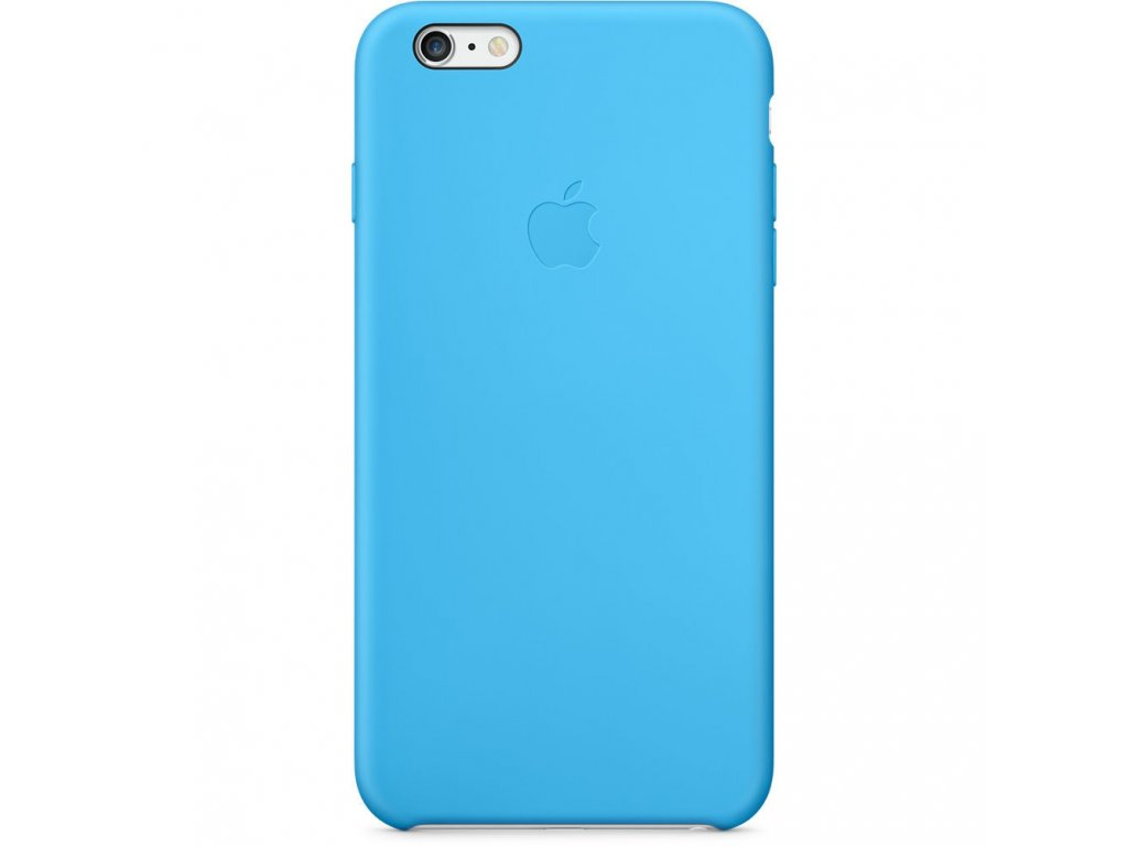 Apple Silicone Case Blue - iPhone 6/6S Plus