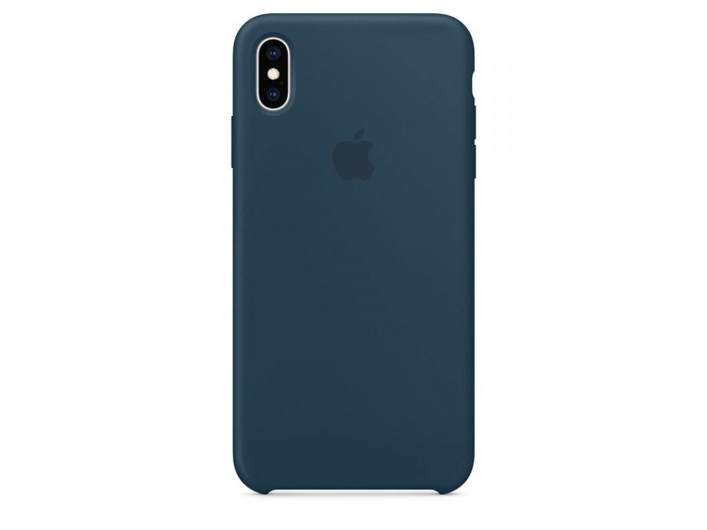 Apple Silicone Case Pacific Green - iPhone XS Max