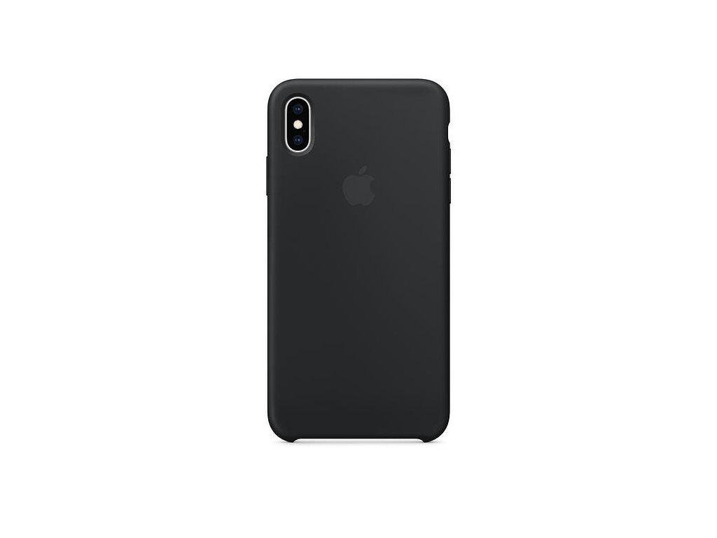 Apple Silicone Case Black - iPhone XS Max