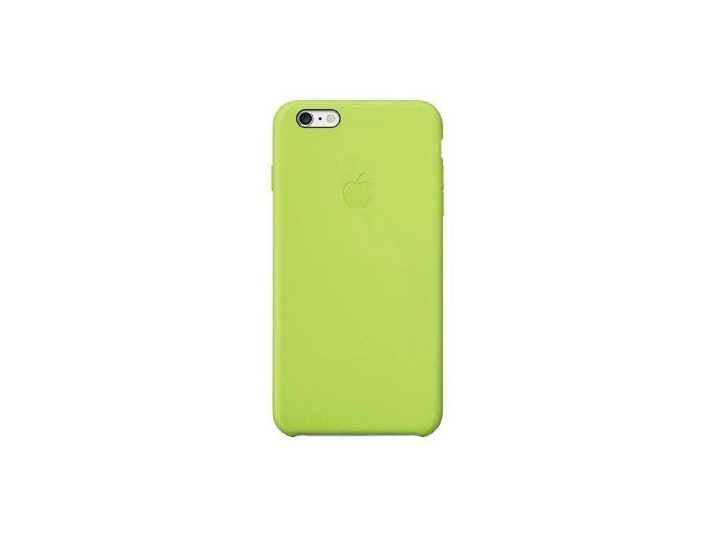apple apple iphone 6 plus silicone case green