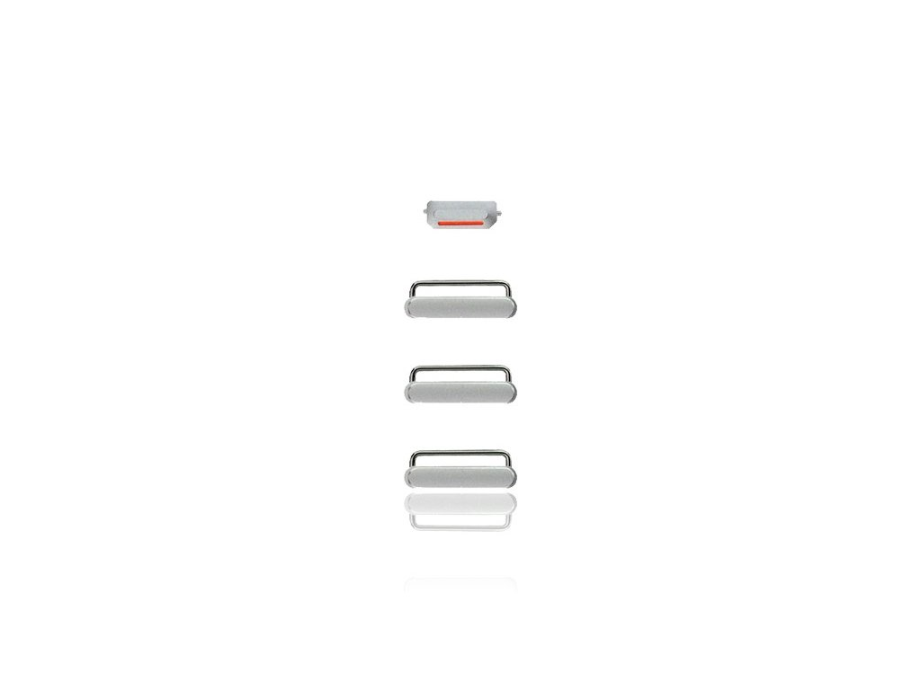 hard buttons set for iphone 66 plus silver power volume vibrator 1