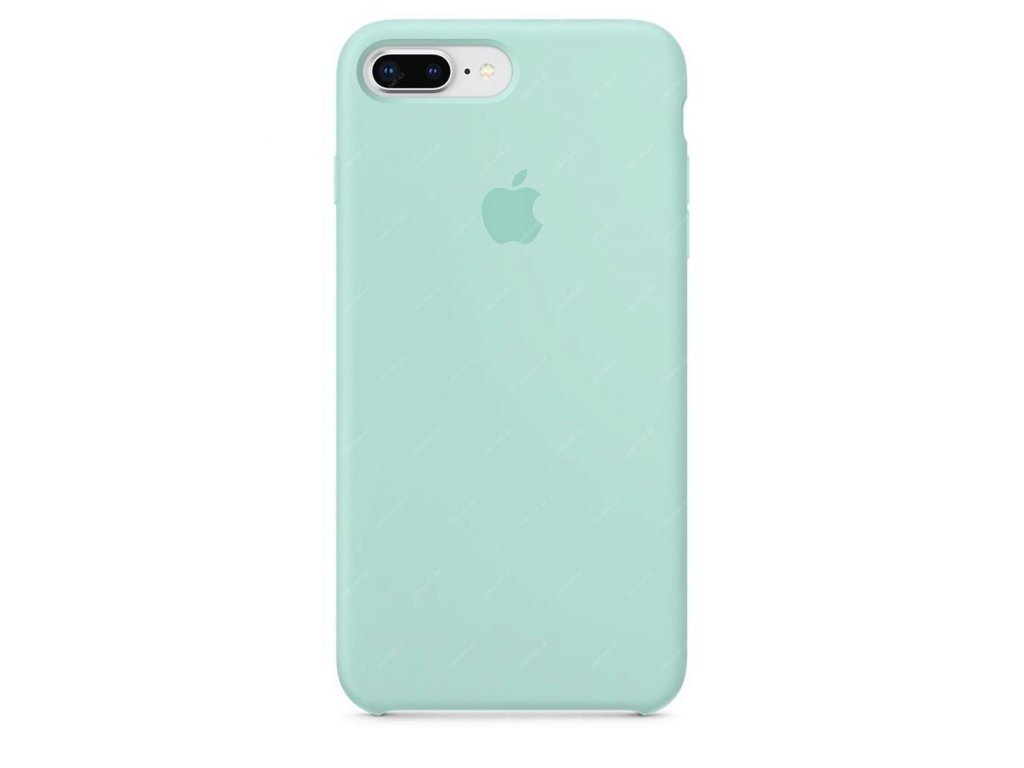 Apple Silicone Case Marine Green - iPhone 7 Plus/8 Plus