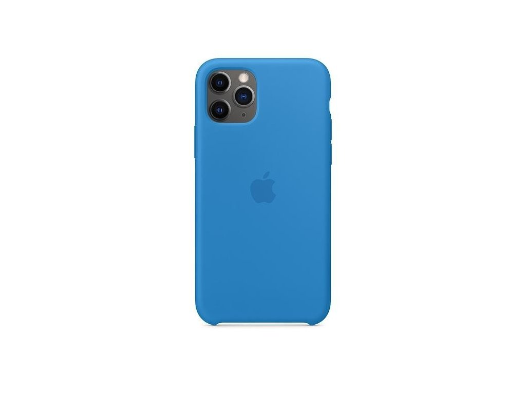 iphone 11 pro silicone case surf blue