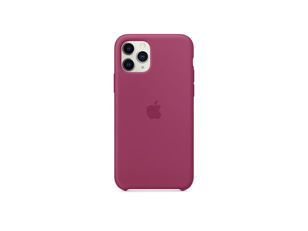 apple iphone 11 pro silicone case pomegranate mxm62zm a cena 408162