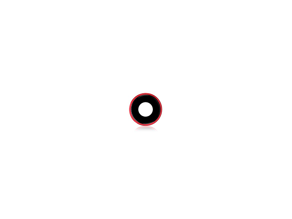 Ochranné sklíčko fotoaparátu - iPhone XR Red