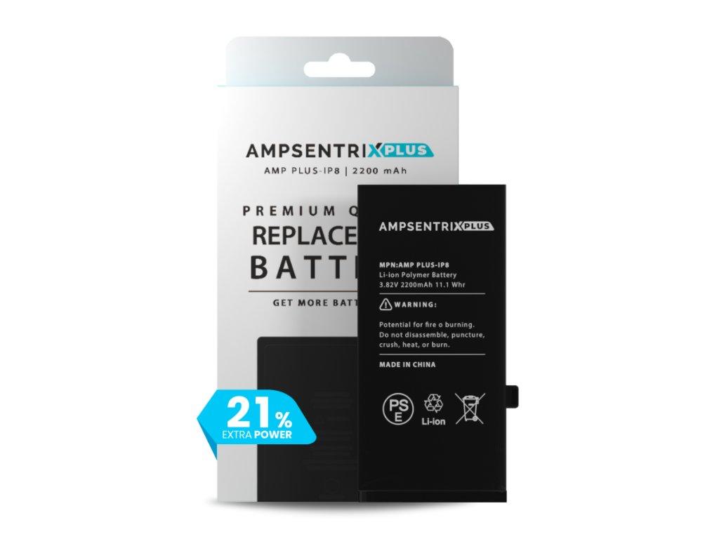 iPhone 8 - Baterie Ampsentrix 2200 mAh