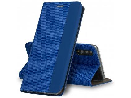 Sensitive book modrá - iPhone 12/12 Pro