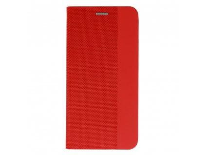 Sensitive book červená - iPhone 12/12 Pro