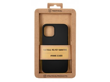 Tactical Velvet Smoothie Asphalt - iPhone 12 Mini
