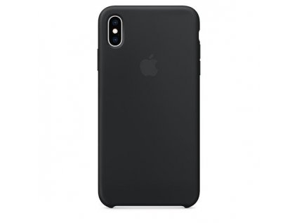 Apple Silicone Case Black - iPhone XS Max