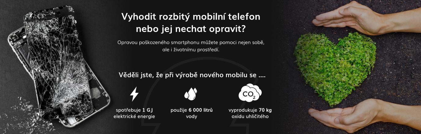 Vyhodit rozbitý mobilní telefon