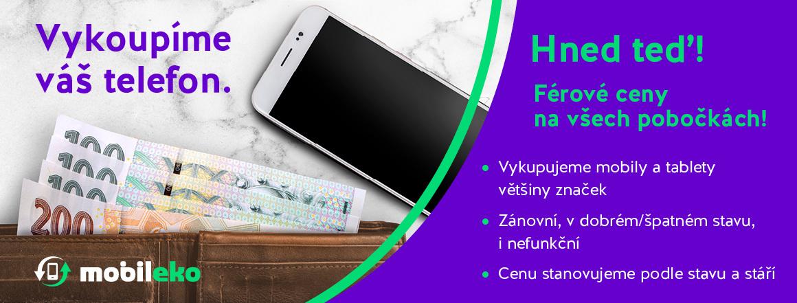 Vykoupíme i Váš mobilní telefon nebo tablet