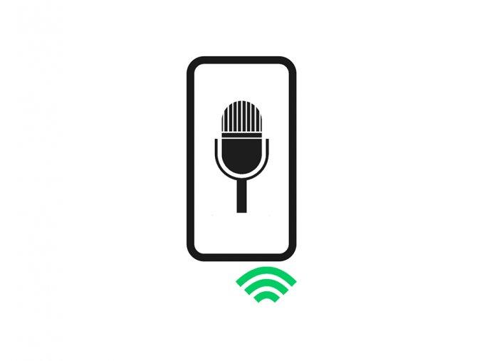 výměna mikrofonu telefonu