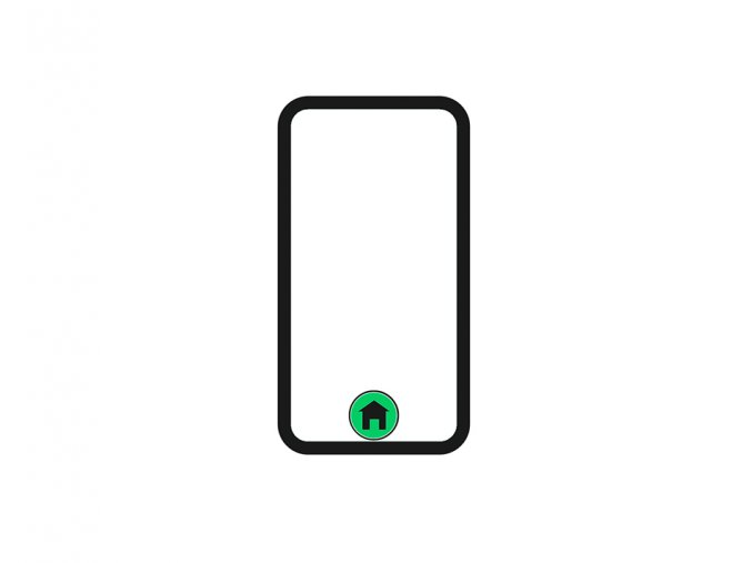 oprava HOME BUTTON