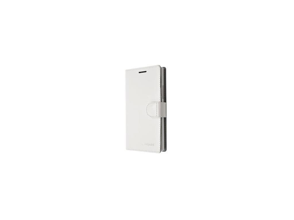 Pouzdro typu kniha FIXED FIT pro Lenovo Vibe X3, bílá
