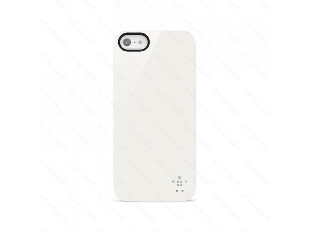 Belkin Shield kryt pro iPhone 5/5S, bílá