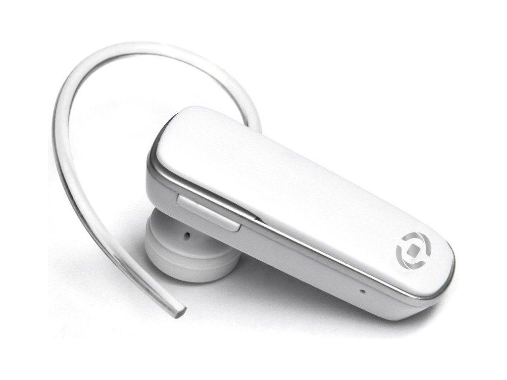 Bluetooth headset CELLY BH8, multipoint, bílý