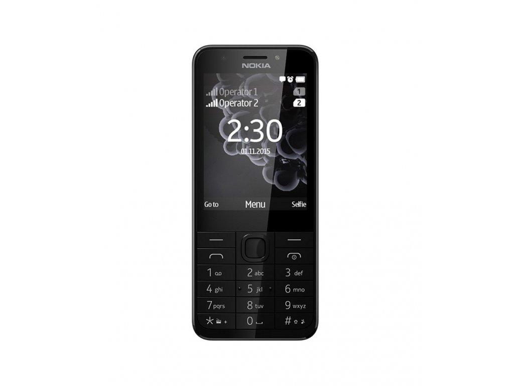 Nokia 230 Dual SIM, Dark Silver / Tmavě stříbrná