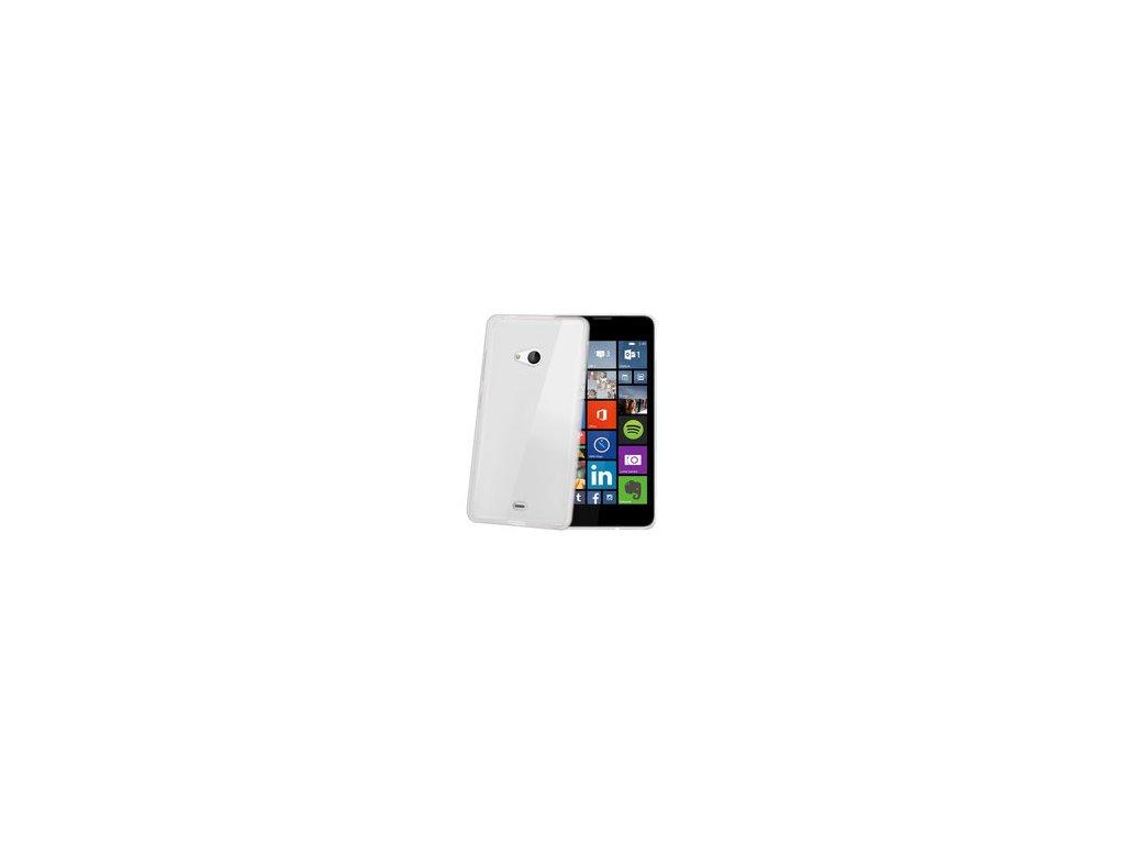 TPU pouzdro CELLY Gelskin pro Microsoft Lumia 535, bezbarvé