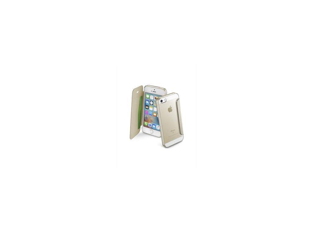Pouzdro CELLY Air Apple iPhone 7 zlaté  AIR800GD