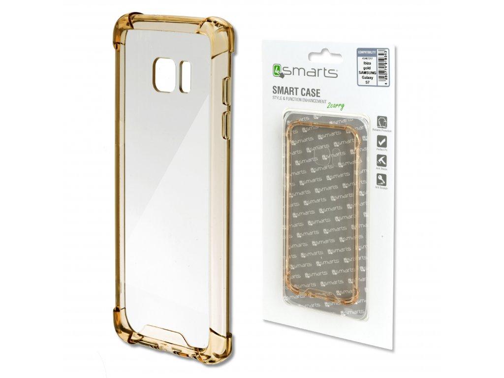 4smarts IBIZA Clip pro Samsung Galaxy S7 zlaté