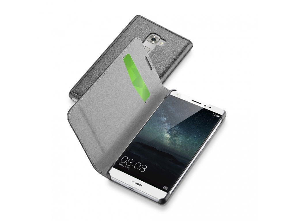 Book pouzdro CellularLine Book essential pro Huawei Ascend Mate S, cerné