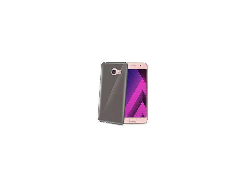 TPU pouzdro CELLY Gelskin pro Samsung Galaxy A3 2017, černé