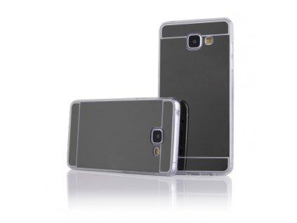 MIRROR CASE pouzdro Samsung A310 Galaxy A3 (2016) black / černé