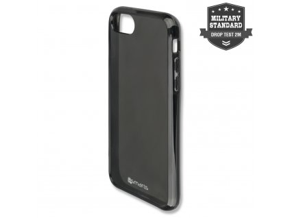 4smarts Soft Cover AIRY-SHIELD for Apple iPhone 8 / 7 / 6s / 6 all-black