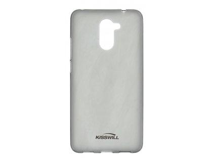Kisswill TPU Pouzdro Black / Černa pro Huawei Y7