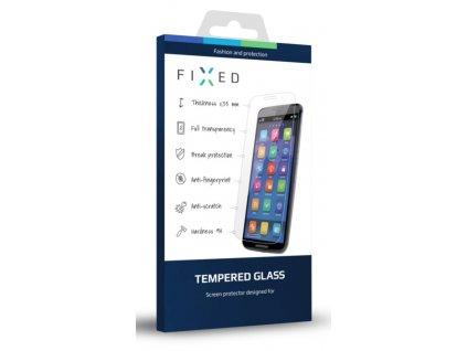 Ochranné tvrzené sklo FIXED Full-Cover pro Sony Xperia XZ, přes celý displej, černé, 0.33 mm