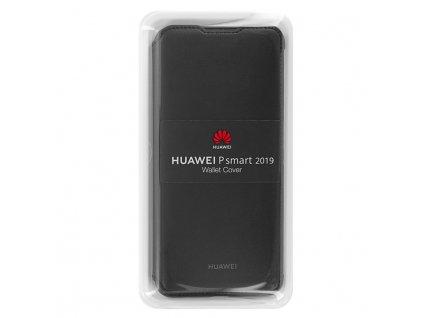 Huawei Original Folio Pouzdro Black / Černá pro P Smart 2019 (EU Blister)