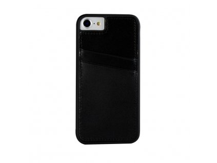 Apple iPhone 7 / 8 Real Leather Back Cover CC Beta black
