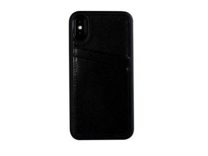 Apple iPhone XS MAX Real Leather Back Cover CC Antique black