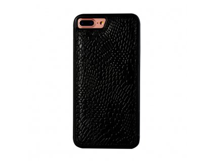Apple iPhone 7 Plus / 8 Plus Real Leather Back Cover Amour black