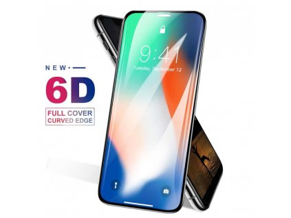 6D Curved Edge Tempered Glass For iPhone X Xr XS Max glass 9H Hardness Full.jpg q50