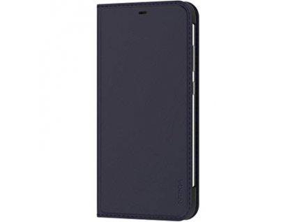 CP-281 Nokia Slim Flip Pouzdro pro Nokia 8.1 Blue / Modrá