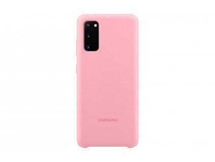 GalaxyS20SilikonPouzPink1