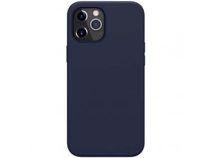 Nillkin flex case liquid silicone case blue iph12