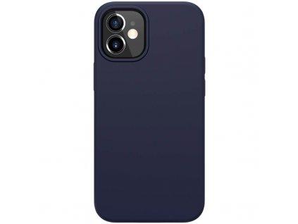 Nillkin flex case liquid silicone case blue iph12 mini