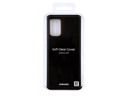A32 orig soft clear cover black