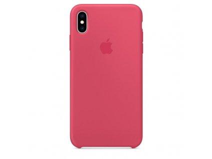 Apple Silikonový Kryt pro iPhone XS Max Hibiscus