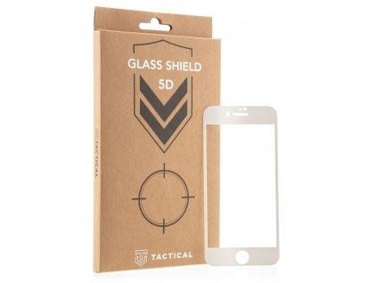 Tactical Glass Shield 5D tvrzené sklo pro Apple iPhone 7/8/SE2020 bílé