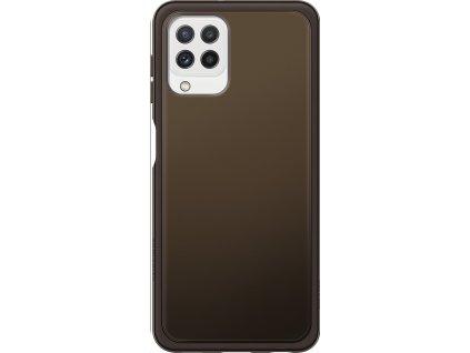 EF-QA225TBE Samsung Soft Clear Kryt pro Galaxy A22 LTE černý