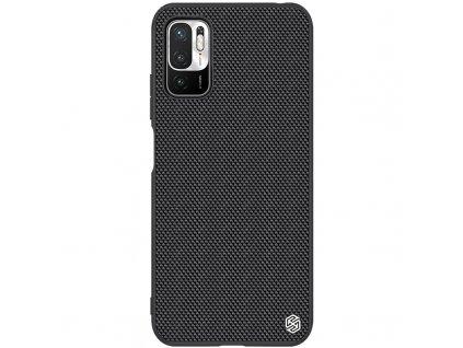 Nillkin Textured Hard Case pouzdro pro Xiaomi Redmi Note 10 5G / POCO M3 Pro 5G Black
