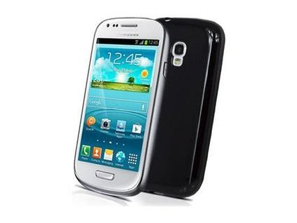 TPU pouzdro CELLY Gelskin pro Samsung Galaxy S III Mini, cerné
