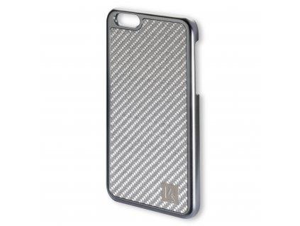 4smarts MODENA Clip Carbon pro iPhone 6 Plus / 6s Plus stríbrné